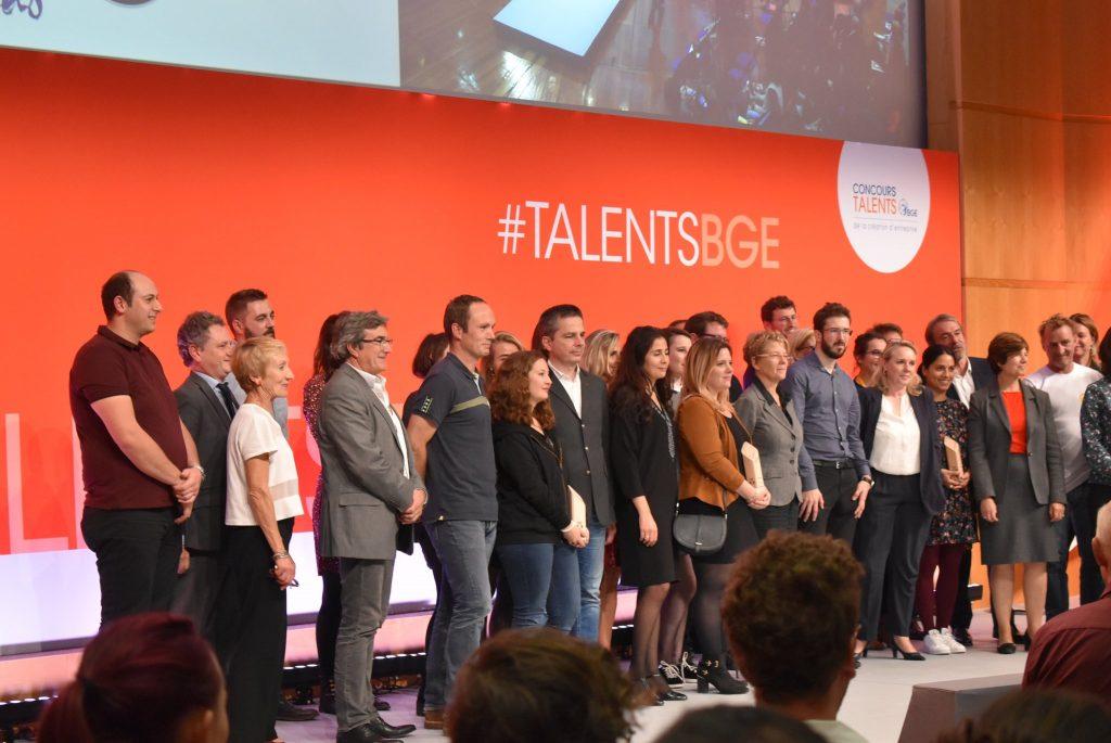 photo du Lauréats du concours Talents BGE