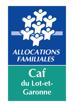 Logo CAF du Lot-et-Garonne