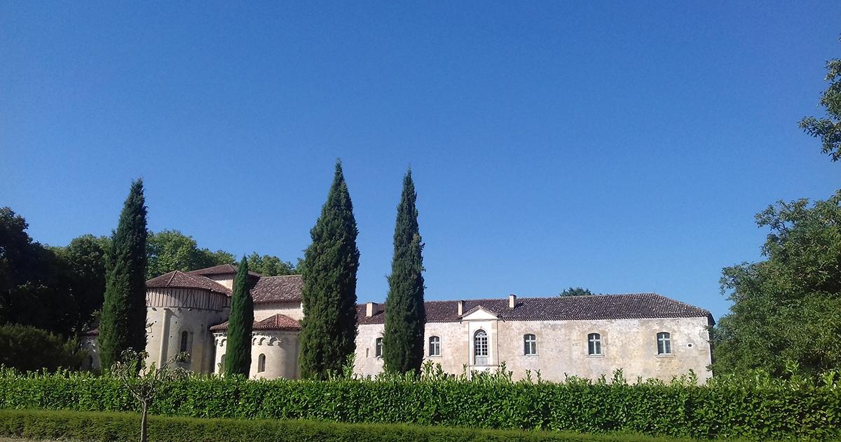 Photo Abbaye de Flaran monument historique de Valence-sur-Baise, Condom, Auch Toulouse Illustration département du Gers 32 BGE Sud-Ouest
